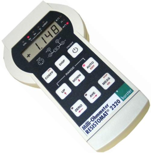 2320, Portable Milliohmmeter RESISTOMAT®